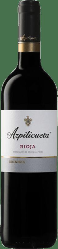 13,95 € Free Shipping | Red wine Campo Viejo Azpilicueta Crianza D.O.Ca. Rioja The Rioja Spain Tempranillo, Graciano, Mazuelo, Carignan Magnum Bottle 1,5 L