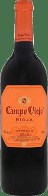 8,95 € Free Shipping | Red wine Campo Viejo Negre Reserva D.O.Ca. Rioja The Rioja Spain Tempranillo, Graciano, Mazuelo, Carignan Bottle 75 cl