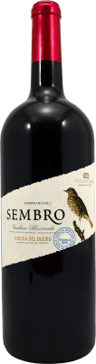 13,95 € Envoi gratuit | Vin rouge Viñas del Jaro Sembro D.O. Ribera del Duero Castille et Leon Espagne Tempranillo Bouteille Magnum 1,5 L