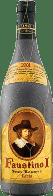 33,95 € Envoi gratuit | Vin rouge Faustino I Especial Gran Reserva 2001 D.O.Ca. Rioja La Rioja Espagne Tempranillo, Graciano, Mazuelo, Carignan Bouteille 75 cl