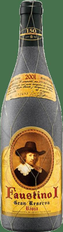 22,95 € Envoi gratuit | Vin rouge Faustino I Especial Gran Reserva D.O.Ca. Rioja La Rioja Espagne Tempranillo, Graciano, Mazuelo, Carignan Bouteille 75 cl
