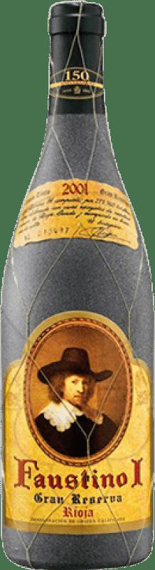 25,95 € Envío gratis | Vino tinto Faustino I Especial Gran Reserva D.O.Ca. Rioja La Rioja España Tempranillo, Graciano, Mazuelo, Cariñena Botella 75 cl