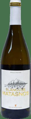 21,95 € Envío gratis | Vino blanco Bosque de Matasnos Crianza I.G.P. Vino de la Tierra de Castilla y León Castilla y León España Viognier, Chardonnay, Verdejo Botella 75 cl