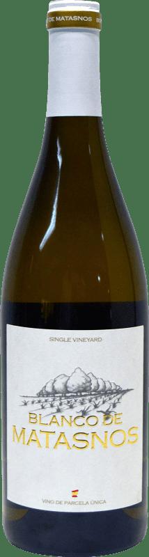 21,95 € Envoi gratuit | Vin blanc Bosque de Matasnos Crianza I.G.P. Vino de la Tierra de Castilla y León Castille et Leon Espagne Viognier, Chardonnay, Verdejo Bouteille 75 cl