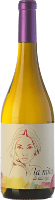 7,95 € Free Shipping | White wine Altanza La Niña de Mis Ojos Joven The Rioja Spain Sauvignon White Bottle 75 cl