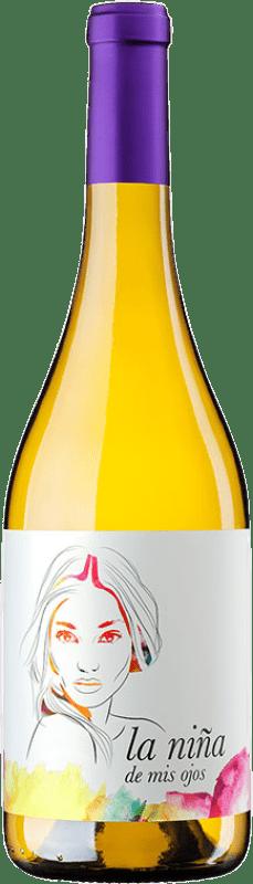 7,95 € Envío gratis | Vino blanco Altanza La Niña de Mis Ojos Joven La Rioja España Sauvignon Blanca Botella 75 cl