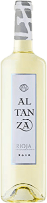 7,95 € Free Shipping | White wine Lealtanza Joven D.O.Ca. Rioja The Rioja Spain Bottle 75 cl
