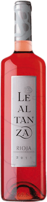 5,95 € Free Shipping | Rosé wine Lealtanza Joven D.O.Ca. Rioja The Rioja Spain Tempranillo Bottle 75 cl