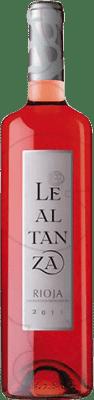 6,95 € Envoi gratuit | Vin rose Lealtanza Joven D.O.Ca. Rioja La Rioja Espagne Tempranillo Bouteille 75 cl