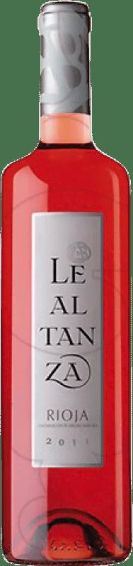 5,95 € Envío gratis | Vino rosado Altanza Lealtanza Joven D.O.Ca. Rioja La Rioja España Tempranillo Botella 75 cl
