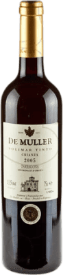6,95 € Free Shipping | Red wine De Muller Viña Solimar Crianza D.O. Tarragona Catalonia Spain Bottle 75 cl