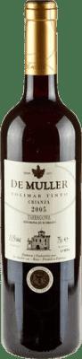 5,95 € Envío gratis | Vino tinto De Muller Viña Solimar Crianza D.O. Tarragona Cataluña España Botella 75 cl