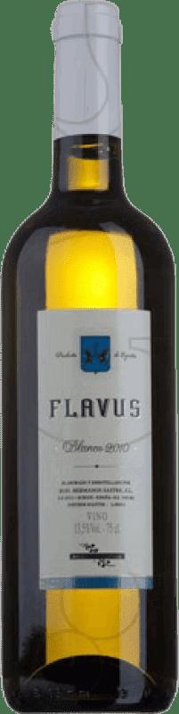 7,95 € Free Shipping | White wine Viña Sastre Flavus Crianza Castilla y León Spain Palomino Fino Bottle 75 cl