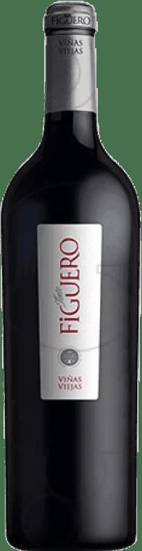 53,95 € Envío gratis | Vino tinto Figuero Viñas Viejas D.O. Ribera del Duero Castilla y León España Tempranillo Botella Mágnum 1,5 L