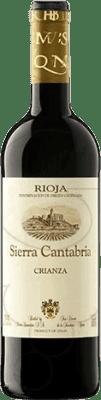 5,95 € Free Shipping | Red wine Sierra Cantabria Crianza D.O.Ca. Rioja The Rioja Spain Tempranillo, Graciano Half Bottle 37 cl