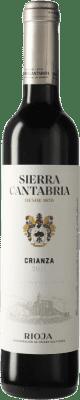 6,95 € Free Shipping | Red wine Sierra Cantabria Crianza D.O.Ca. Rioja The Rioja Spain Tempranillo, Graciano Half Bottle 50 cl