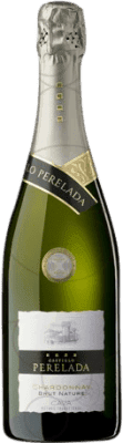 8,95 € Free Shipping | White sparkling Perelada Brut Nature Reserva D.O. Cava Catalonia Spain Chardonnay Bottle 75 cl