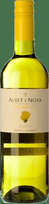 6,95 € Kostenloser Versand | Weißwein Albet i Noya Petit Albet Joven D.O. Penedès Katalonien Spanien Xarel·lo, Chardonnay Flasche 75 cl