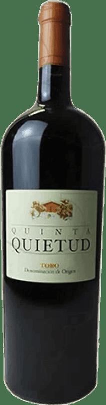 43,95 € Free Shipping | Red wine Quinta de la Quietud Crianza D.O. Toro Castilla y León Spain Magnum Bottle 1,5 L