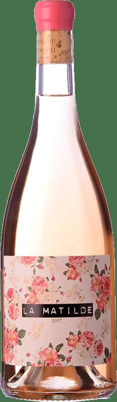 16,95 € Free Shipping | Rosé wine Vall Llach La Matilde Joven D.O.Ca. Priorat Catalonia Spain Grenache Bottle 75 cl