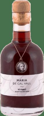 131,95 € Envio grátis | Vinho fortificado Vall Llach María de Cal Ranci D.O.Ca. Priorat Catalunha Espanha Grenache, Grenache Branca Garrafa Pequena 20 cl