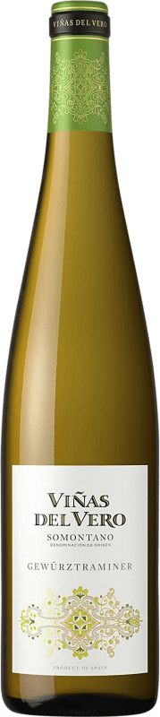 9,95 € Free Shipping   White wine Viñas del Vero Colección Joven D.O. Somontano Aragon Spain Gewürztraminer Bottle 75 cl