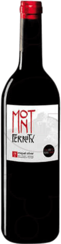 7,95 € Free Shipping | Red wine Miquel Oliver Mont Ferrutx Crianza D.O. Pla i Llevant Balearic Islands Spain Bottle 75 cl