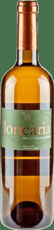8,95 € Envío gratis | Vino blanco Pere Guardiola Joncaria Crianza D.O. Empordà Cataluña España Moscatel Botella 75 cl