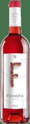 5,95 € Free Shipping | Rosé wine Pere Guardiola Floresta Joven D.O. Empordà Catalonia Spain Merlot, Syrah, Grenache, Mazuelo, Carignan Bottle 75 cl