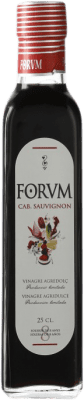 5,95 € Free Shipping | Vinegar Augustus Cabernet Forum Spain Cabernet Sauvignon Small Bottle 25 cl
