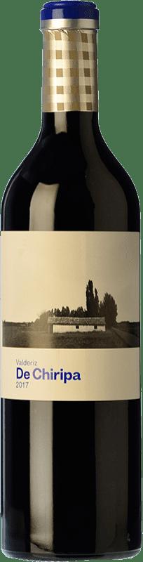 11,95 € Envío gratis | Vino tinto Valderiz de Chiripa Crianza D.O. Ribera del Duero Castilla y León España Tempranillo, Albillo Botella 75 cl