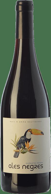 9,95 € Free Shipping | Red wine Terra Remota Ales Negres Crianza D.O. Empordà Catalonia Spain Tempranillo, Syrah, Grenache, Cabernet Sauvignon Bottle 75 cl