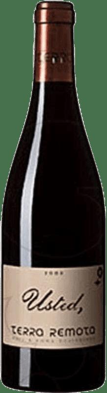 192,95 € Envío gratis | Vino tinto Terra Remota Usted D.O. Empordà Cataluña España Syrah, Garnacha Botella 75 cl
