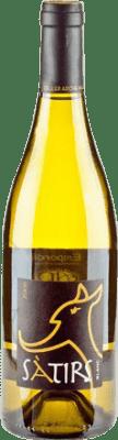 5,95 € Envío gratis | Vino blanco Arché Pagés Satirs Crianza D.O. Empordà Cataluña España Botella 75 cl