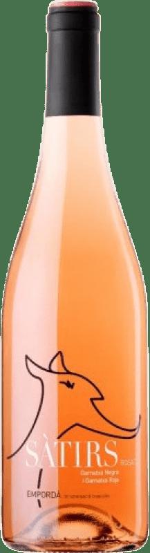 5,95 € Envío gratis | Vino rosado Arché Pagés Satirs Joven D.O. Empordà Cataluña España Merlot, Garnacha, Cabernet Sauvignon Botella 75 cl