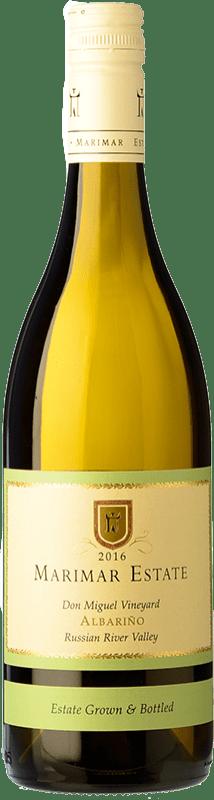 29,95 € Free Shipping | White wine Marimar Estate Crianza United States Albariño Bottle 75 cl