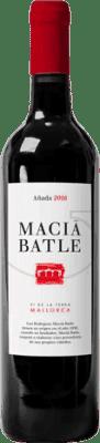 12,95 € Free Shipping | Red wine Macià Batle Negre Crianza D.O. Binissalem Balearic Islands Spain Bottle 75 cl