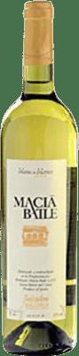 9,95 € Kostenloser Versand | Weißwein Macià Batle Blanc de Blancs Joven D.O. Binissalem Balearen Spanien Chardonnay, Prensal Blanco Flasche 75 cl