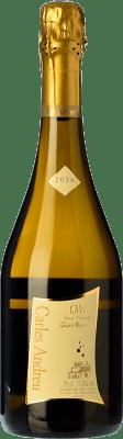 9,95 € Kostenloser Versand | Weißer Sekt Carles Andreu Brut Natur Reserva D.O. Cava Katalonien Spanien Macabeo, Chardonnay, Parellada Flasche 75 cl