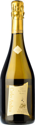 9,95 € Free Shipping | White sparkling Carles Andreu Brut Nature Reserva D.O. Cava Catalonia Spain Macabeo, Chardonnay, Parellada Bottle 75 cl