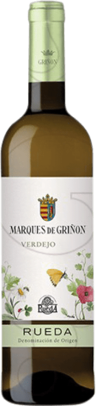 12,95 € Envoi gratuit | Vin blanc Marqués de Griñón Joven D.O. Rueda Castille et Leon Espagne Verdejo Bouteille Magnum 1,5 L