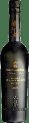 11,95 € Envío gratis | Aceite Marqués de Griñón España Media Botella 50 cl