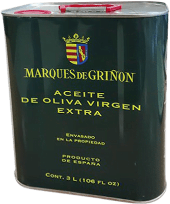 36,95 € Envío gratis | Aceite Marqués de Griñón España Lata 3 L