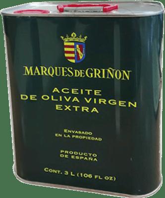 36,95 € Envoi gratuit | Huile Marqués de Griñón Espagne Lata 3 L