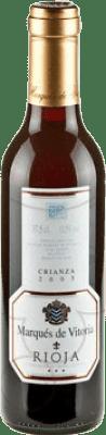 3,95 € Envoi gratuit   Vin rouge Marqués de Vitoria Crianza D.O.Ca. Rioja La Rioja Espagne Tempranillo Demi Bouteille 37 cl