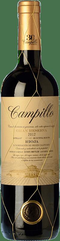 19,95 € Free Shipping | Red wine Campillo Gran Reserva D.O.Ca. Rioja The Rioja Spain Tempranillo Bottle 75 cl
