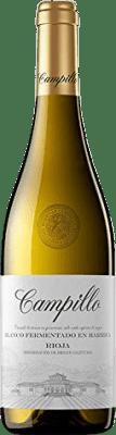 6,95 € Kostenloser Versand   Weißwein Campillo Fermentat Barrica Crianza D.O.Ca. Rioja La Rioja Spanien Macabeo Flasche 75 cl