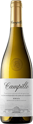 8,95 € Free Shipping | White wine Campillo Fermentat Barrica Crianza D.O.Ca. Rioja The Rioja Spain Macabeo Bottle 75 cl