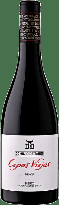 25,95 € Free Shipping | Red wine Dominio de Tares Cepas Viejas Crianza D.O. Bierzo Castilla y León Spain Mencía Magnum Bottle 1,5 L