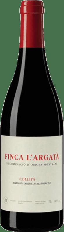 25,95 € Free Shipping | Red wine Joan d'Anguera Finca l'Argata Crianza D.O. Montsant Catalonia Spain Bottle 75 cl